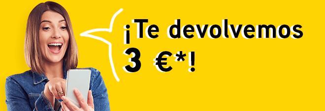 Devuelven 3 € en saldo en tu cuenta de JuegosONCE