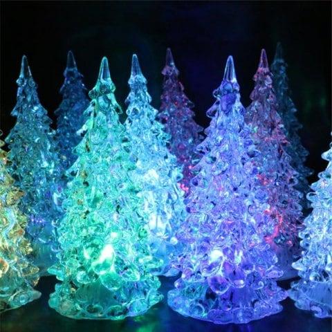 Arbolito Navidad con luz led solo 0.69€️