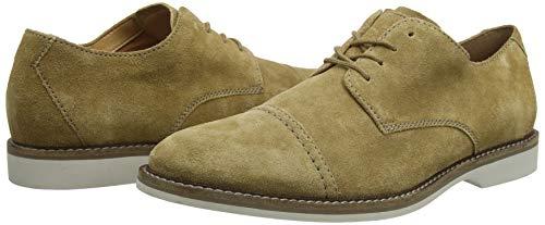 TALLA 42.5 - Clarks Atticus Cap, Zapatos de Cordones Derby para Hombre