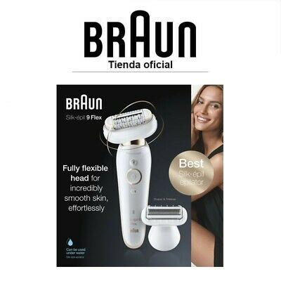 Braun Silk-épil 9002 Flex Wet & Dry Depiladora Eléctrica Cabezal flexible