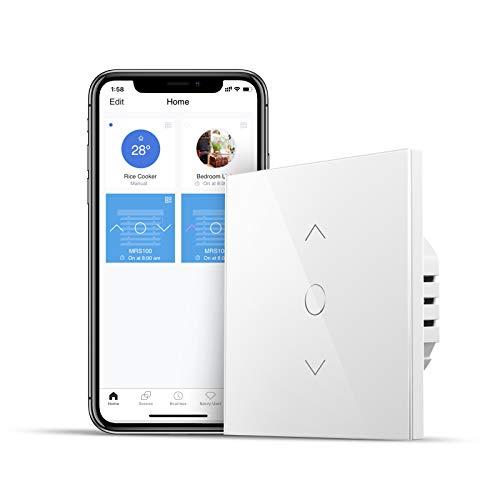 Interruptor de persianaInteligente wifi compatible con Alexa y Google Home