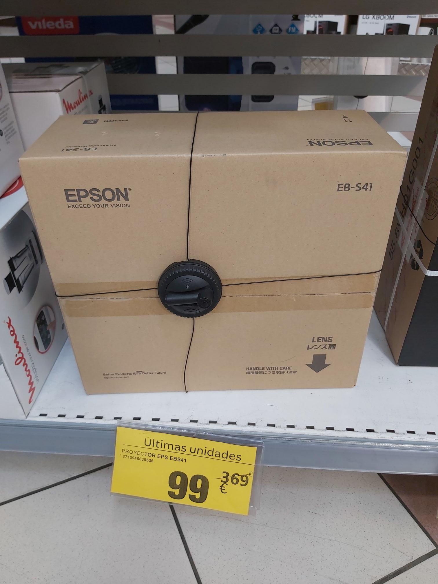 Proyector Epson EB-S41