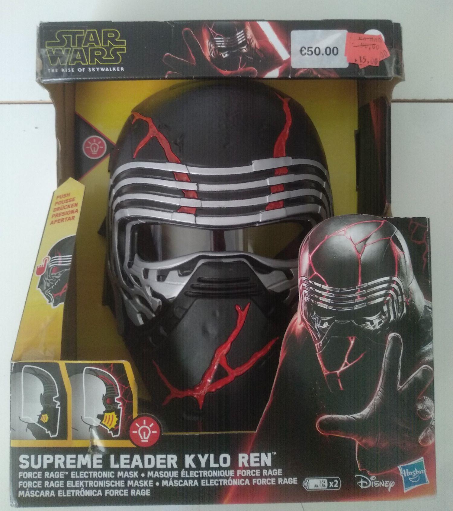 Máscara Kylo Ren Star Wars