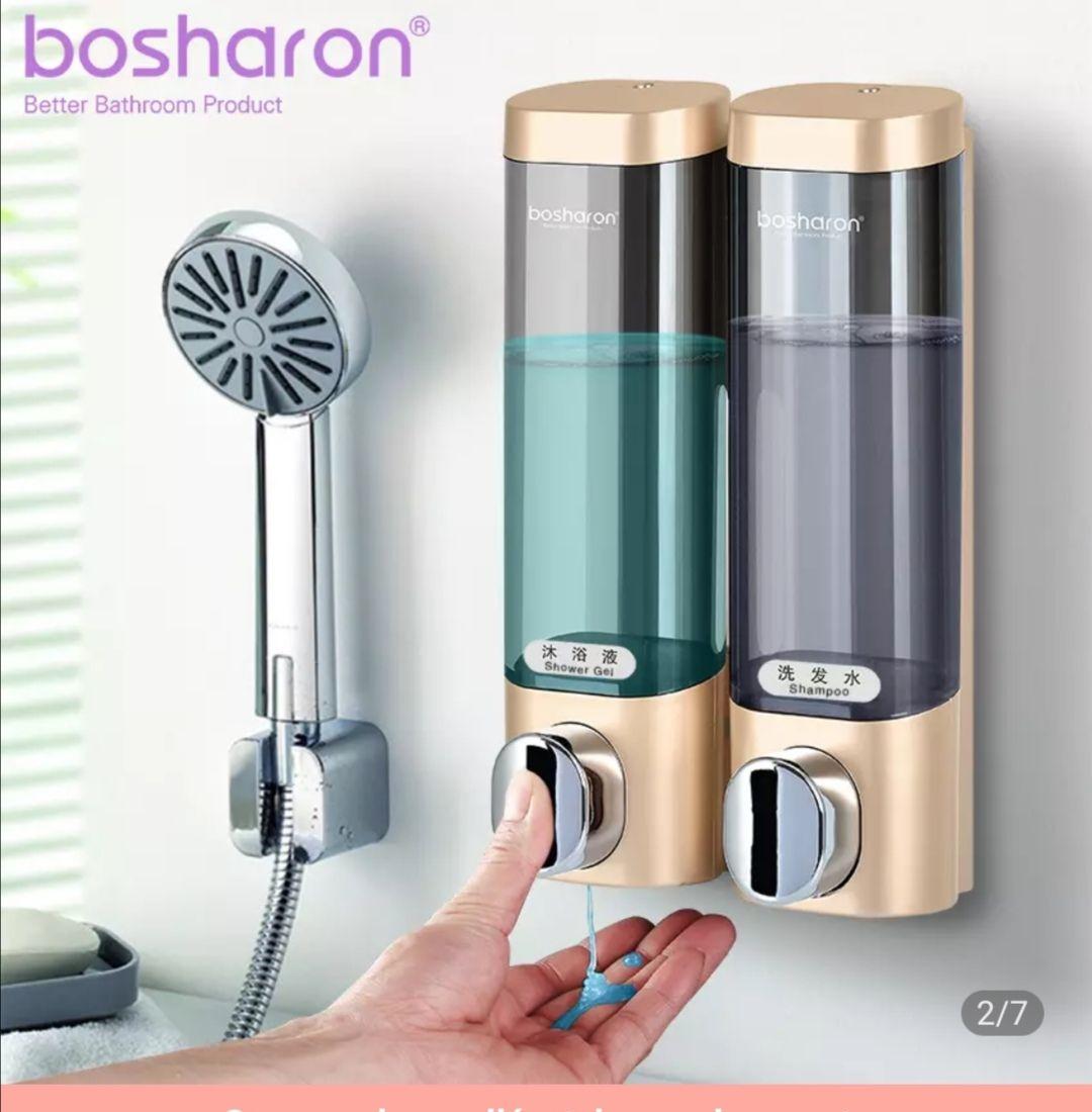 Dispensador de jabón líquido de montaje en pared