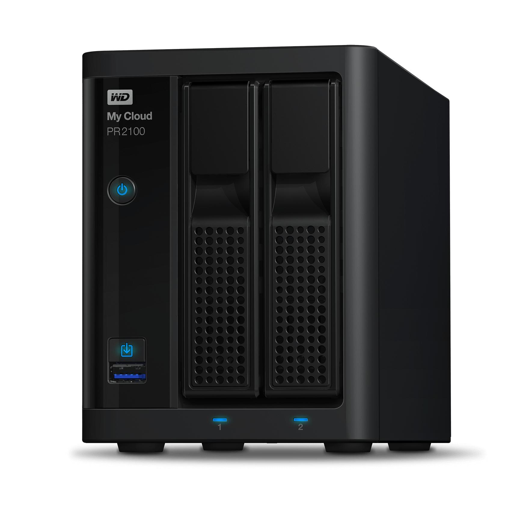 WD My Cloud Pro PR2100 Pro Series 28TB