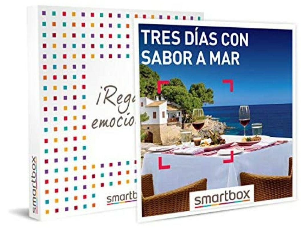 Smartbox Tres días con Sabor a mar Caja Regalo, Adultos Unisex, estándar
