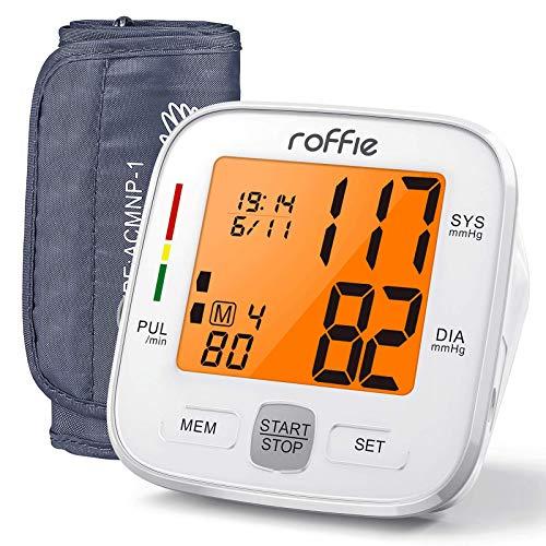 Roffie Tensiómetro de Brazo Digital Monitor Tipo de Banda