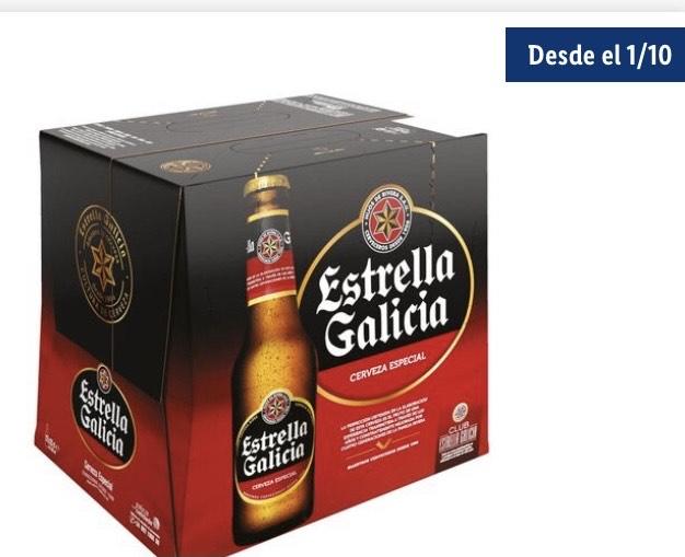 Estrella Galicia® Cerveza especial Pack 12 x 25 c