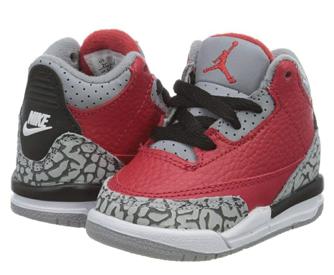 TALLA 27 - NIKE Jordan 3 Retro Se (TD), Zapatillas de básquetbol para Niños