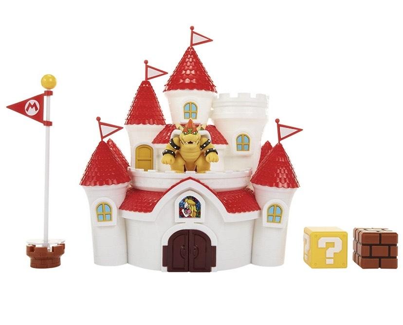 Nintendo, Super Mario Playset Castillo del Reino Champiñón