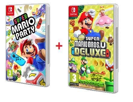 NEW SUPER MARIO BROS. U DELUXE + SUPER MARIO PARTY (NINTENDO SWITCH)