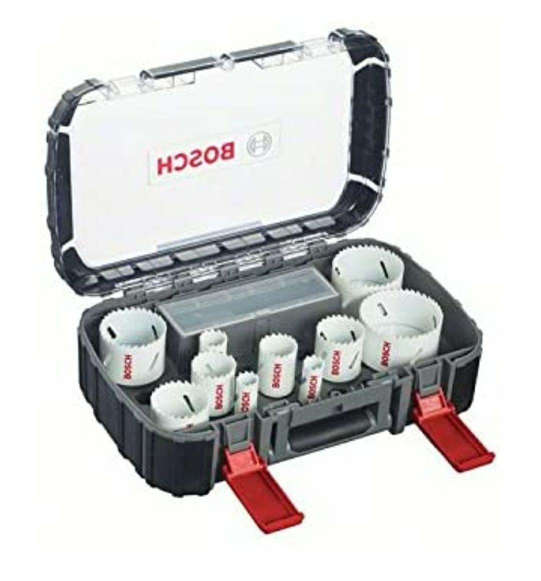 Bosch Professional 2608580878 Sierras de Corona, 850 V, Set de 14 Piezas