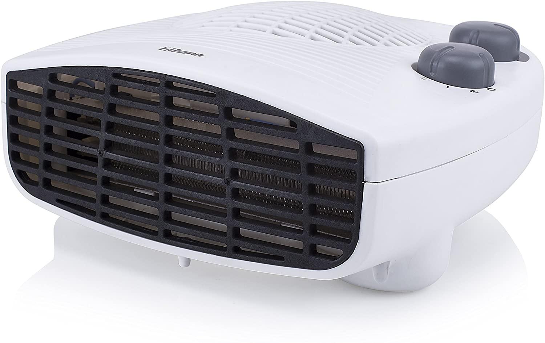 Tristar KA-5046 Calefactor eléctrico con 3 funciones ajustables y termostato regulable, 2000 W,