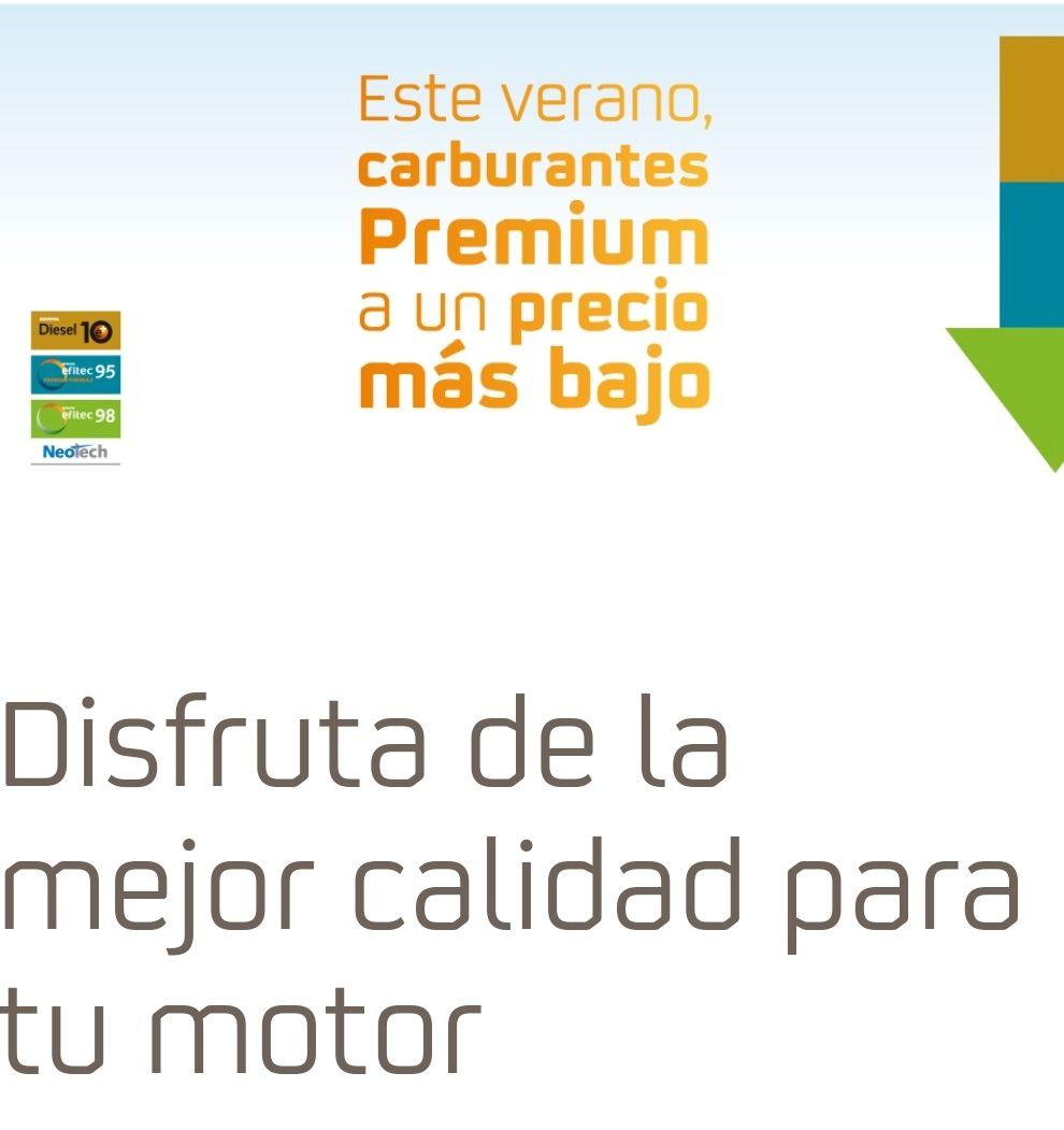 Los días 13, 27 y 31 de juliopodrás repostar nuestroscarburantes Premium a menor precio