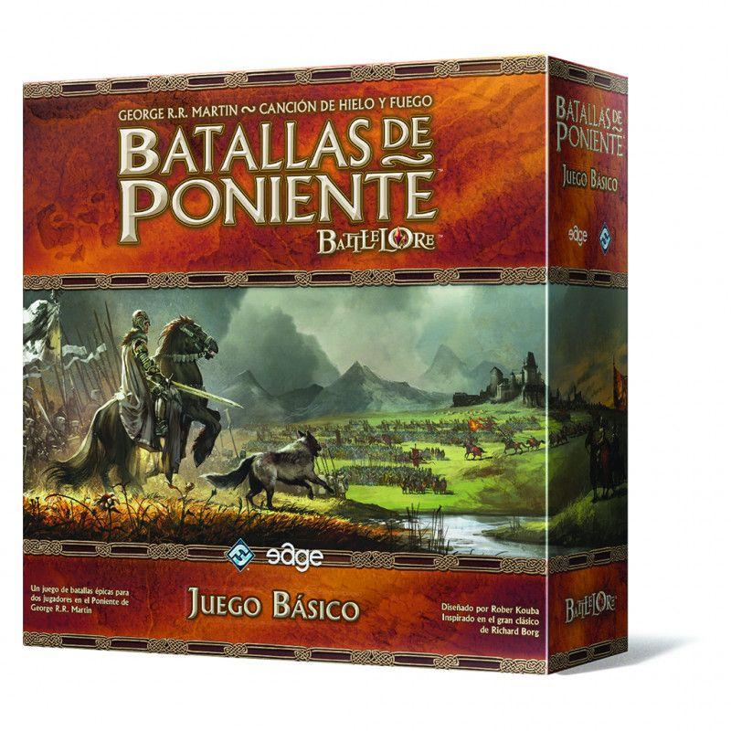 Juego de Mesa Batallas del Poniente + 6 expansiones