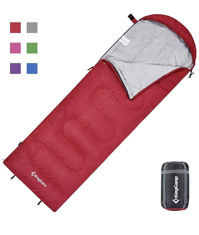 Saco de dormir con cabecero KingCamp Oasis Serie