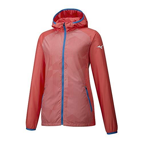 TALLAS S y L - Mizuno Printed Hoody Jacket Chaqueta, Mujer (Desde 13.93€)