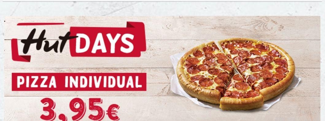 Pizza hut individual recoger o a domicilio
