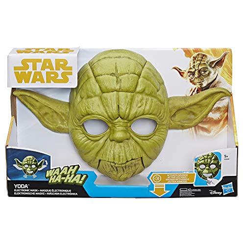 Máscara Electrónica Yoda   Hasbro Star Wars   Mínimo Histórico