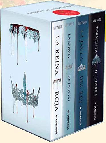 Saga La Reina Roja (4 libros) por menos de 10€