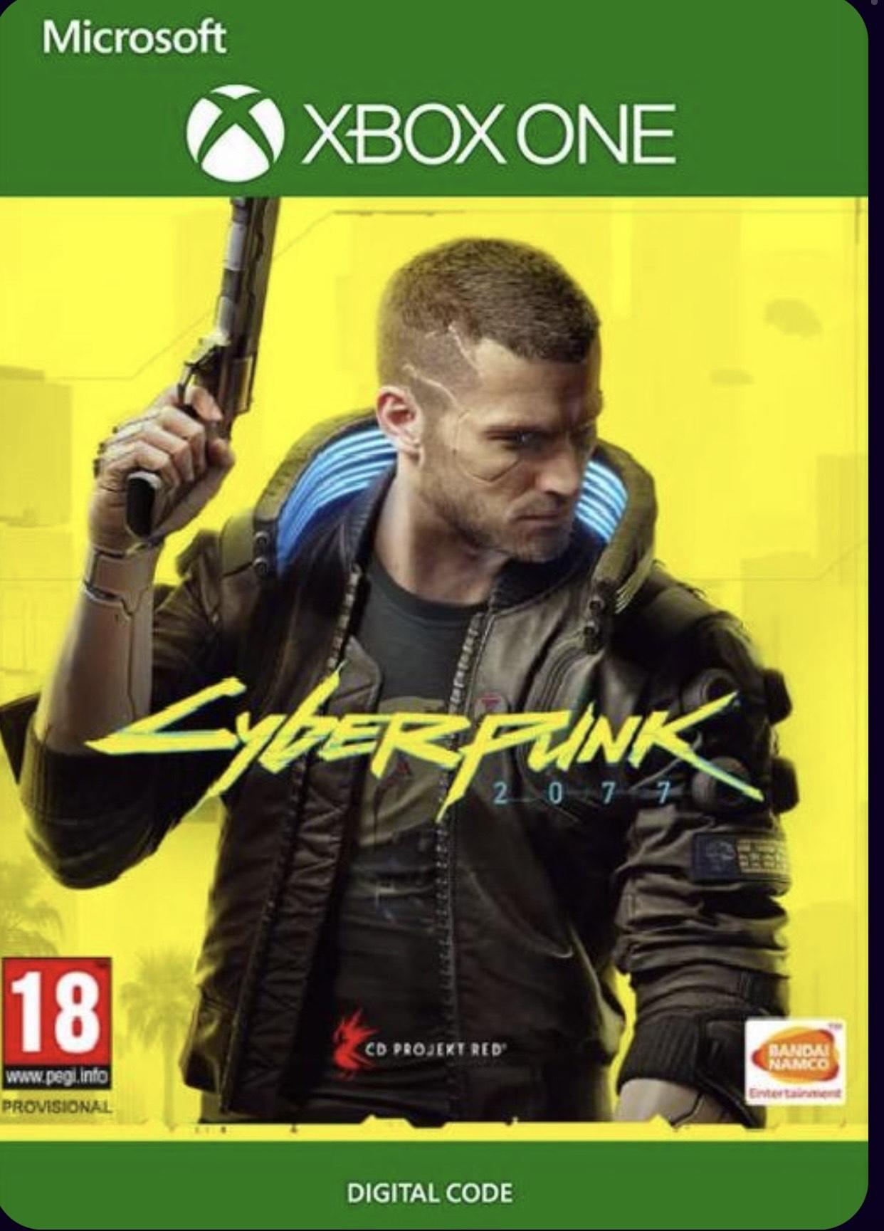 Cyberpunk 2077 para Xbox Series X y Xbox One