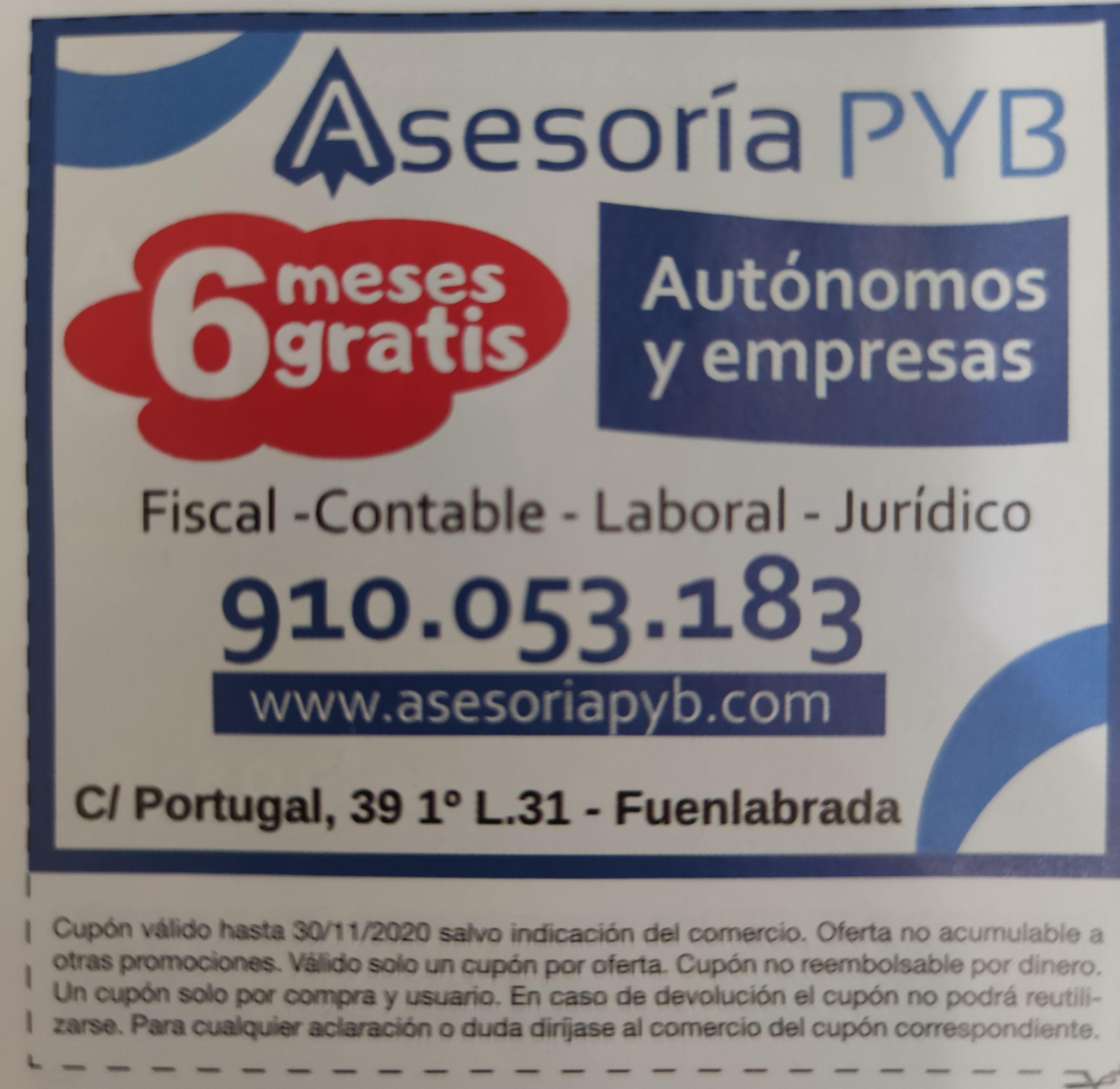 Asesoría Fiscal y Contable 50% (6 Meses Gratis)