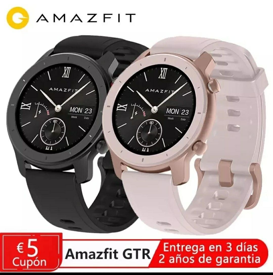 Amafit GTR 42mm Negro (ESPAÑA)