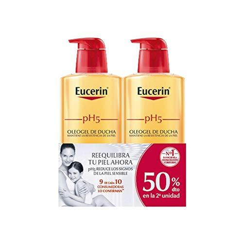 Eucerin Family Pack Ph5 Oleogel de Ducha 1000 ml y oleogel 400 ml. Envío en 1 a 2 meses.
