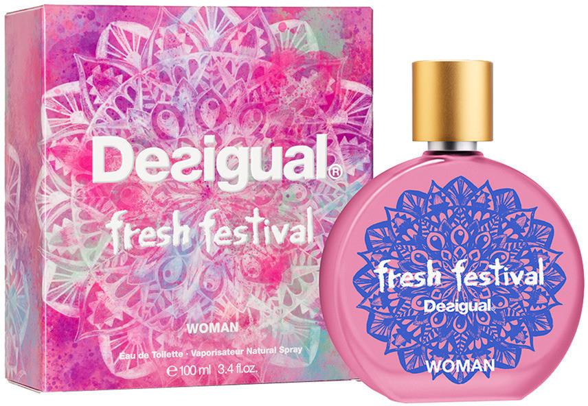 Fresh Festival Eau De Toilette Perfume de Mujer Vaporizador 100 ml Desigual