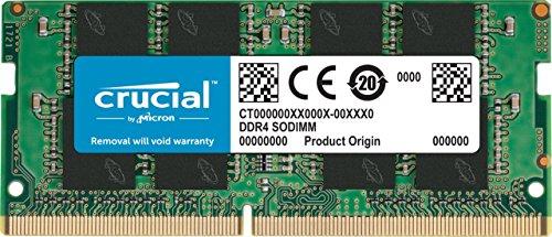 Memoria Crucial DDR4 SODIMM 16Gb 2400 mt/s