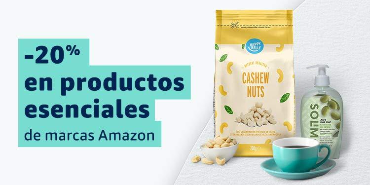 20% de descuento en productos esenciales vendidos por Amazon