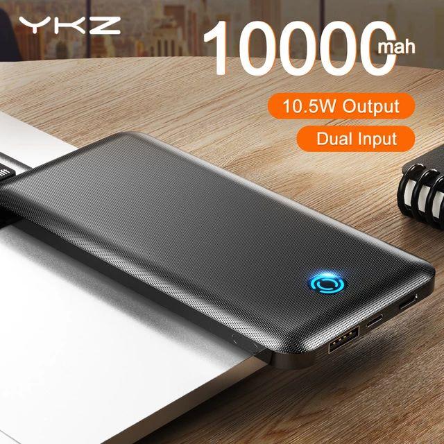 2 x PowerBank 10000mah + 2 cables tipo C