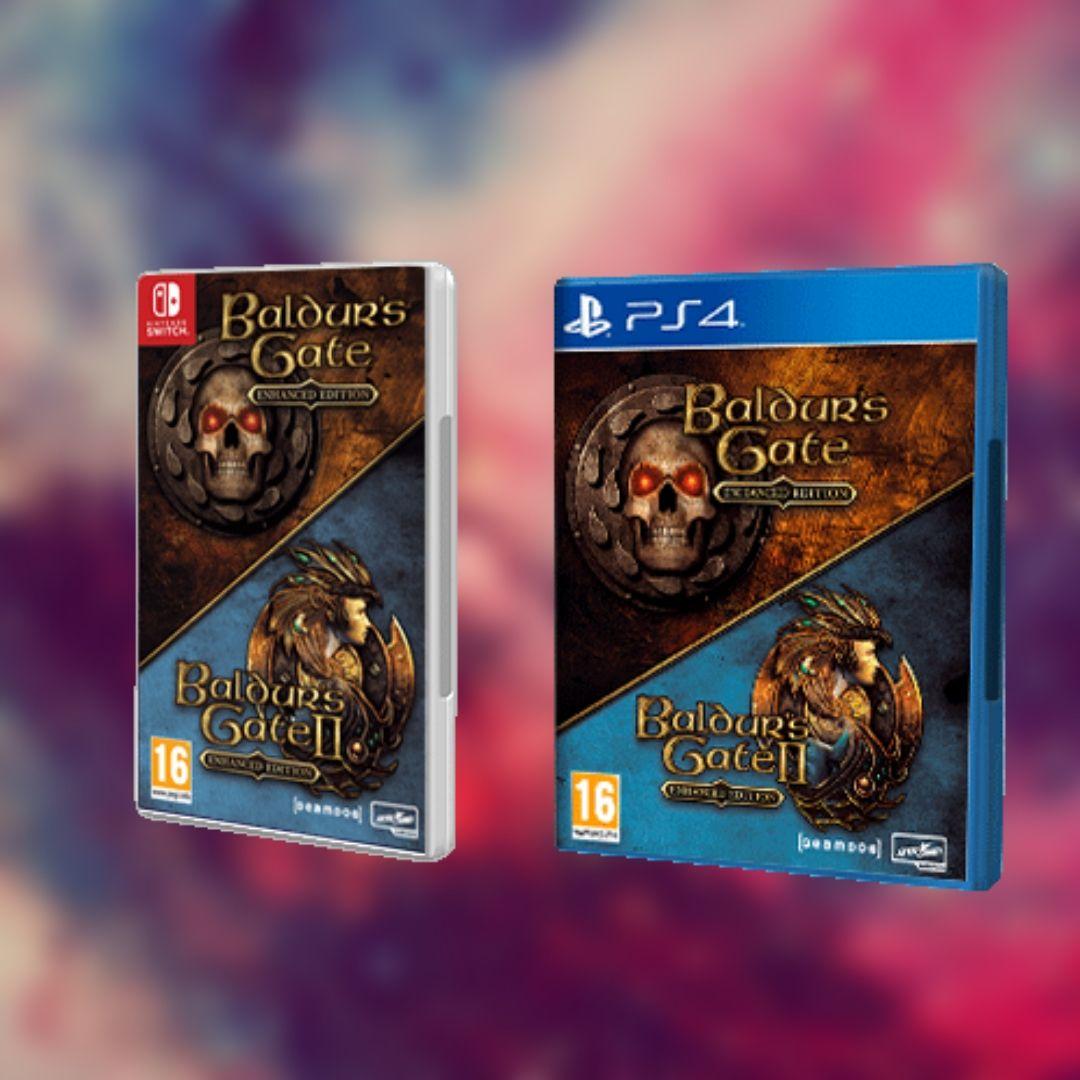 Baldur´s Gate Enhanced Edition Pack Nintendo Switch y PlayStation 4