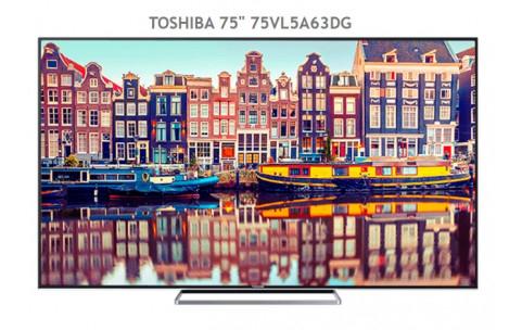 "Toshiba 75"" 75VL5A63DG Ultra HD 4K"