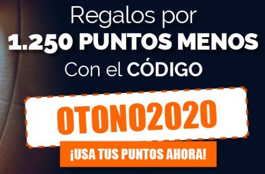 Descuento 1250 puntos TravelClub!