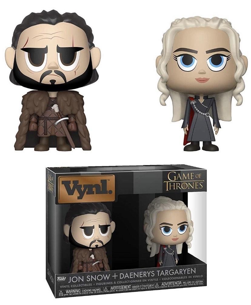 Pack: Juego de Tronos: Jon & Daenerys,
