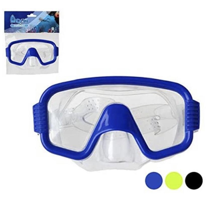 Gafas de Buceo, Unisex-Adult, Azul, Talla única