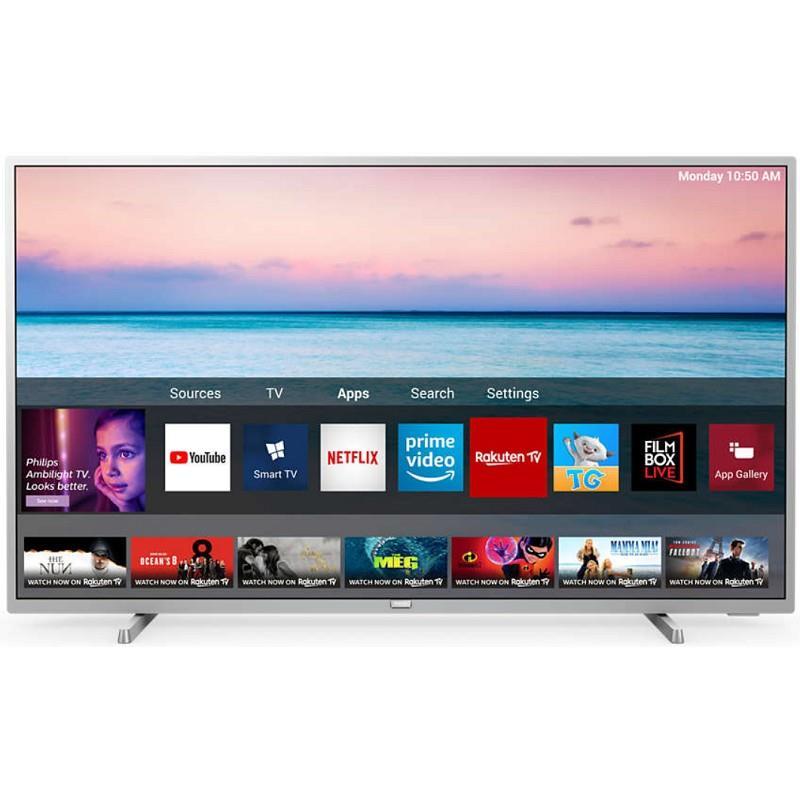 "TV Philips 55"" 4K HDR Smart TV con Ambilight"