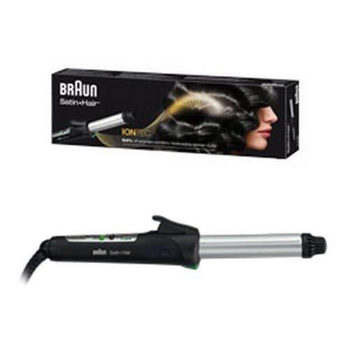 Braun Satin Hair 7 CU710 - Rizador de pelo con tecnología iónica, tenacillas con control de temperatura