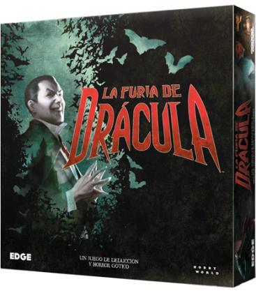 La Furia de Drácula, juego de tablero en castellano