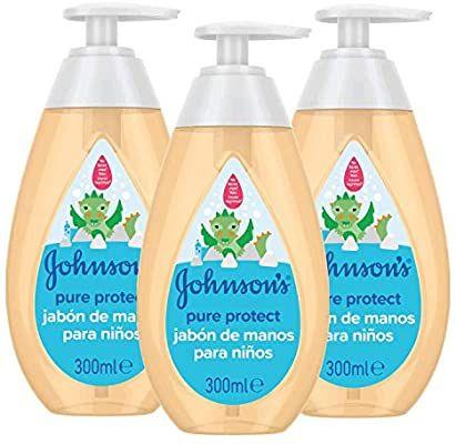 Johnson's Baby Pure Protect Jabón de Manos 3X300ml
