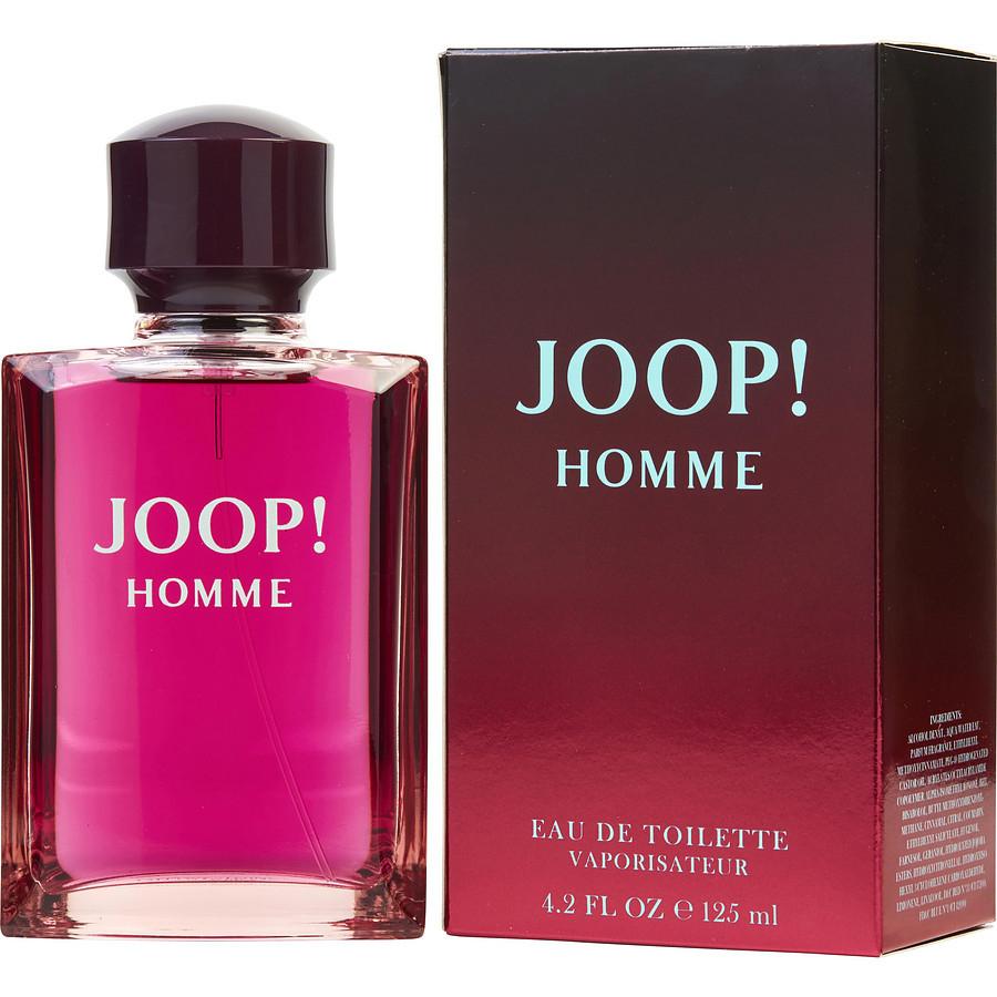 Joop Homme 125 ml a 9,99 € y 5 regalos gratis
