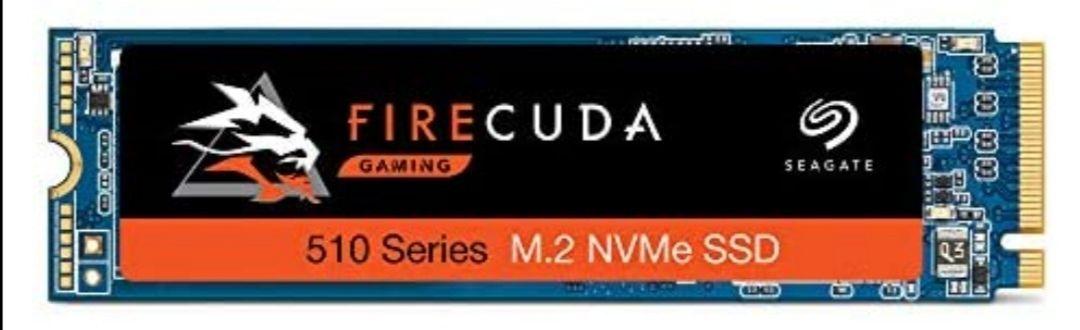 Seagate FireCuda 510 Unidad de Estado sólido M.2 1000 GB PCI Express 3D TLC NVMe