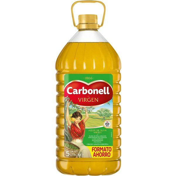 CARBONELL Aceite de oliva virgenbidón 5 l