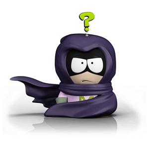 Figura de 18 cm. de Mysterion del videojuego South Park The Fractured But Whole