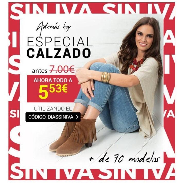 Selección de calzados para mujer por solo 7€