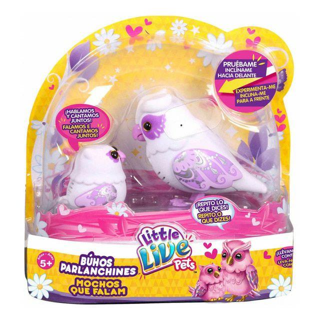 Little Live Pets Mamá búho y su bebé Famosa OMG Pets