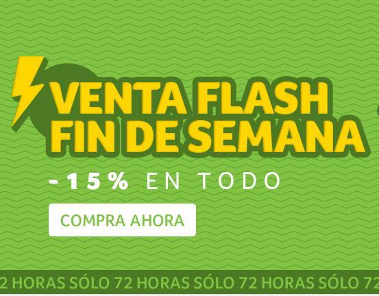 Venta flash fin de semana en Tienda Acer