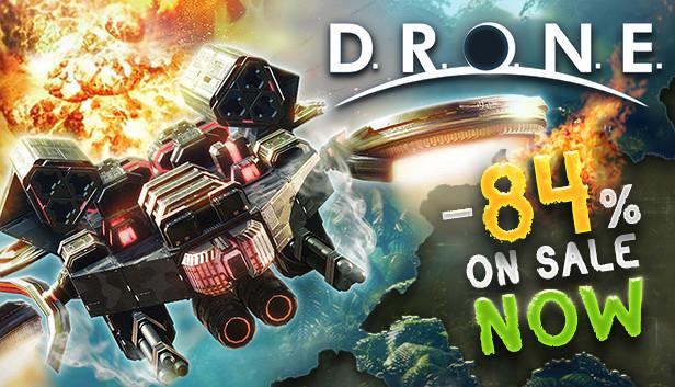 DRONE The Game - 84% de descuento (Steam)