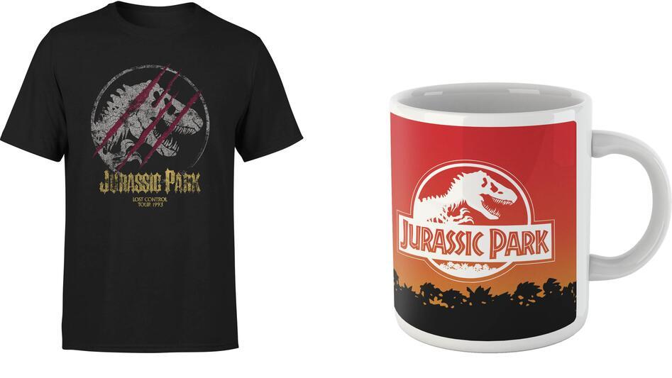 Camiseta + taza Jurassic Park